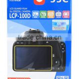 PET Screen Protector JJC LCP-100D LCD Guard Film For Canon For Screen Protector