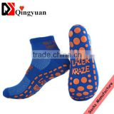 Customized Trampoline socks Non Skid Socks Rubber Socks Sport Socks jump sock for club trampoline park                                                                         Quality Choice