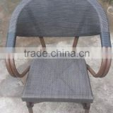 Woven Nylon Commercial Outdoor Restaurant, Caffe or french Bistro Chair