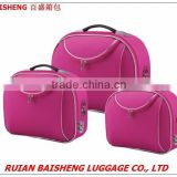 BS601 2015 new design shangdong silk polyester beauty cases/makeup bags/cosmetics bag/suitcase/