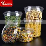 Vegetable fruit salad PET plastic tub with lid                                                                         Quality Choice