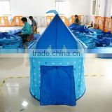 blue imperial crown princess castle play tent