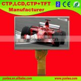 factory supply COG 7 inch flat lcd display