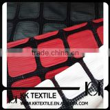 New 2014 Winter Season Design-100%Polyester Netting Square Pattern PU Embroidery Fabric Design