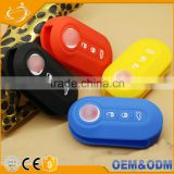 High Quality Hot Sale Promotion Gift Wholesale Car Remote Key Holder Cover For FIAT Panda Stilo
