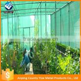 30-90% shade net different colors raschel knitted agricultural farming shade cloth for greenhouse
