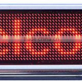 English sign led lighting desk message screen