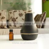 100ml Aromatherapy Essential Oils Diffuser/ Aroma Ultrasonic Humidifier with Natural Music (Black)