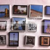 high quality pocture frames wholesale metal photo frame aluminum collage waterproof photo frame