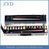 Silver Long Billiard Case Type, Aluminum Patch 3/4 Snooker Cue Case ZYD-HZMpoolc001