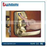 Factory supply used hotel locks smart digital hotel door lock system Fingerprint Door Lock 3398