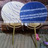 Ramie& Bamboo hand Fan With fish