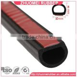 Car Door Rubber D Seal With 3M Tape