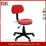modern antique style design low back red guest office chairs