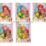 FASHION STRAWBERRY GIRL DOLLS 5ASST.
