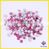 Bling bling glass crystal embellishments for wedding dresses