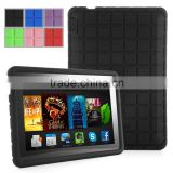 New cover for kindle fire hd rubber bumper cases, for amazon kindle file HD 7 inch tablet silicone case