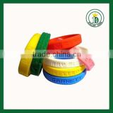 custom debossed silicone wristbands factory ,ink filled print silicone rubber wristbands,custom bulk cheap silicone bracelet