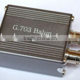 box 75 ohm to 120 ohms Double BNC to RJ45 balun
