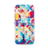 Soft TPU mobile phone case for iphone 6 case with colorful custom pattern design