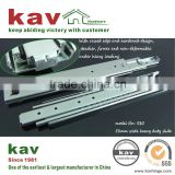 71mm wide ball bearing extra heavy duty drawer runner for goods shelf of warehouse cabinet