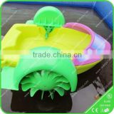 Cheap price children water park sale paddle boat used,paddle wheel boats,small paddle boats