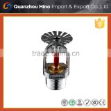 Pendent fire sprinkler head for fire fighting