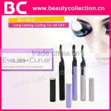 BC-0818 2016 OEM heated eyelash curler/Promotion heated eyelash curler/Electric heated eyelash curler