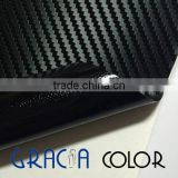 Glossy/Matt White Eco Solvent Large Format Printing Material Carbon Fiber Car Wrap Vinyl