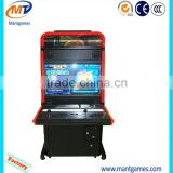 Arcade fighting video cabinet game machine arcade machine 3D street fighter IV operated with coins