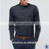 latest shirt designs for men slim fit long sleeve black dress shirt                                                                                                         Supplier's Choice