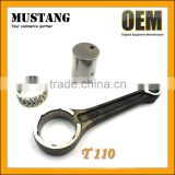 Motorcycle Connecting Rod in 20CR Material, Connecting Rod Kit for T 110 Motorcycle,Connecting Rod +Bearing+ Crank Pin