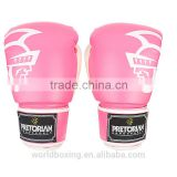8 - 16 OZ UFC Fitness Pretorian Grant Luva Boxe MMA Training Boxing Gloves In Pink PU Leather Muay Thai Mixed Martial Art Mitts