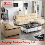 Modern sectional leather trend diwan sofa set designs modern l shape sofa