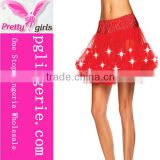 Fashion Fluffy Led Tutu Skirts For Party Tutu Skirt For Girls,Pettiskirt With Lights Tutu Skirts