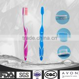 FDA High quality soft bristle tooth brush, OEM tooth brush factory, own logo imprint feature tooth brush