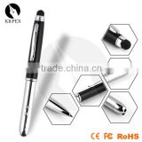 KKPEN 4 in 1 multi-function pen with ball point pen,LED light and touch screen stylus pen