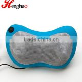 12V electric kneading and heating car neck massage pillow neck support pillow for car seat