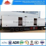 China semi refrigerated trailer for sale