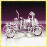 Vintage Antique Crystal Bubble Car Model For Grandpa Birthday Souvenirs