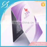 Fashionable PVC Card pvc business card pvc id card maker Manufacturer in China
