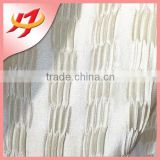 Direct Supplier Home decor china embroidered curtain fabric silk roll sheer