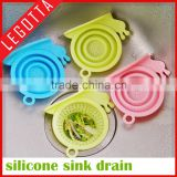Wholesale factory price good selling collapsible kitchen sink plastic strainer