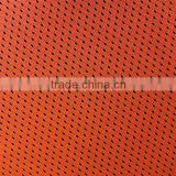 Breathable 100% polyester bird-eye mesh fabric for running tee-shirts/suits lining