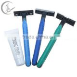 High Quality Double Blades Disposable Shaving Razor, Hotel Disposable Shaving Kits for Men