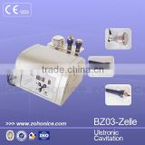 40hkz BZ03 Zelle Weight Loss Skin Body Shaping Care 40k Ultrasonic Cavitation Slimming Machine