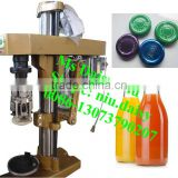 commercial glass bottle lip capping machine/plastic bottle lip sealing machine/beer bottle capper machine