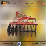 chinese 4wd small farm tractors with disc harrow implements