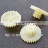 small nylon gears, small plastic toy gears