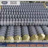high quality hot dipped galvanized chain link fence farm fence pvc vinyl fence factory hot sales